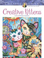 Creative Kittens Coloring Book (USED)
