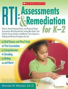 RTI: Assessments and Remediation for k-2 (USED)