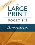 Large Print Roget's II Thesaurus