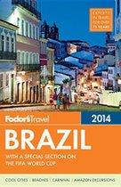 Fodor's Brazil 2014 (USED)