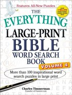 The Everything Large-Print Bible Word Search Book Volume 4