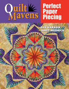 Quilt Mavens: Perfect Paper Piecing with CD ROM (USED)