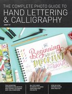 Complete Photo Guide of Hand Lettering & Calligraphy (USED)