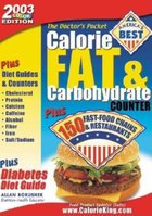 Calorie, Fat and Carbohydrate Counter (USED)